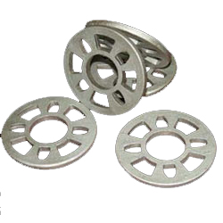 Steel casting rosettes