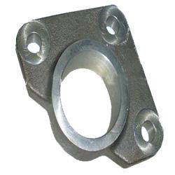 Casting cylinder flange