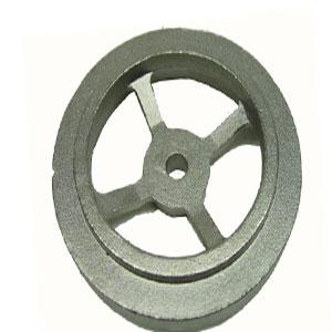 Casting steel wheel