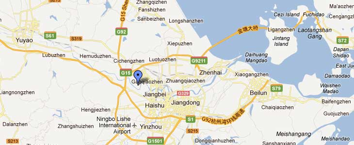 Ningbo Bright Precision Casting Foundry in Google Maps