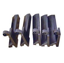 Welding forklift parts