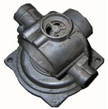 Casting valve housing